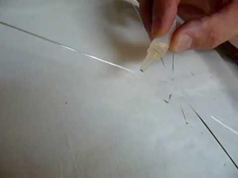 Скрытие сколов на стекле