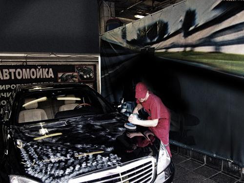Предпродажная подготовка автомобиля: полировка
