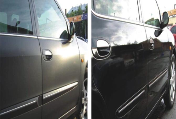 Предпродажная подготовка авто, полировка: до и после
