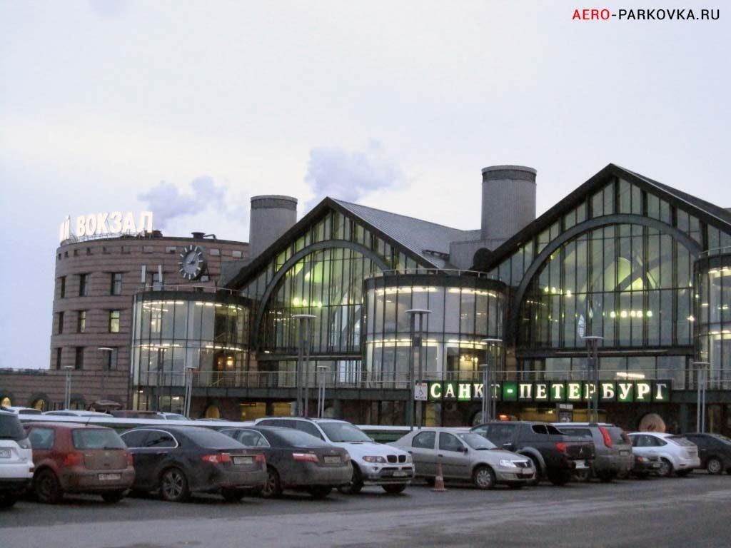 Парковка у Ладожского вокзала фото